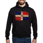 Dominican Republic Flag Hoodie (dark)