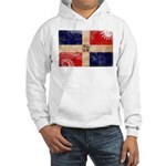 Dominican Republic Flag Hooded Sweatshirt