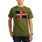 Dominican Republic Flag Organic Men's T-Shirt (dar