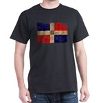 Dominican Republic Flag Dark T-Shirt