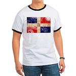 Dominican Republic Flag Ringer T