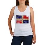 Dominican Republic Flag Women's Tank Top