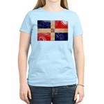 Dominican Republic Flag Women's Light T-Shirt