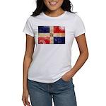 Dominican Republic Flag Women's T-Shirt