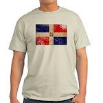 Dominican Republic Flag Light T-Shirt