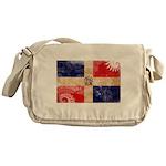 Dominican Republic Flag Messenger Bag