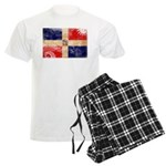 Dominican Republic Flag Men's Light Pajamas