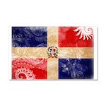 Dominican Republic Flag Car Magnet 20 x 12