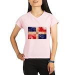 Dominican Republic Flag Performance Dry T-Shirt
