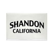 Shandon California Rectangle Magnet