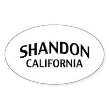 Shandon California Decal