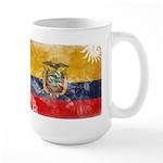 Ecuador Flag Large Mug