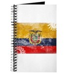 Ecuador Flag Journal