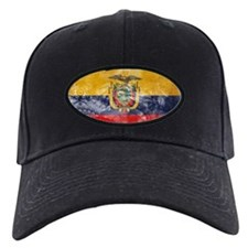 Ecuador Flag Baseball Hat