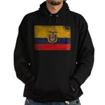 Ecuador Flag Hoodie (dark)