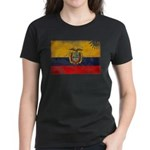 Ecuador Flag Women's Dark T-Shirt