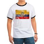 Ecuador Flag Ringer T