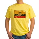 Ecuador Flag Yellow T-Shirt