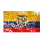 Ecuador Flag 38.5 x 24.5 Wall Peel