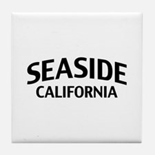 Seaside California Tile Coaster