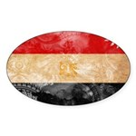Egypt Flag Sticker (Oval 10 pk)