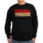 Egypt Flag Sweatshirt (dark)