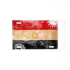 Egypt Flag Aluminum License Plate