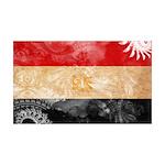 Egypt Flag 38.5 x 24.5 Wall Peel