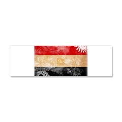 Egypt Flag Car Magnet 10 x 3