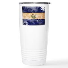 El Salvador Flag Travel Mug