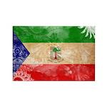 Equatorial Guinea Flag Rectangle Magnet