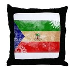 Equatorial Guinea Flag Throw Pillow