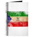 Equatorial Guinea Flag Journal