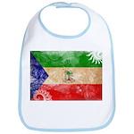 Equatorial Guinea Flag Bib