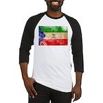 Equatorial Guinea Flag Baseball Jersey