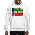 Equatorial Guinea Flag Hooded Sweatshirt