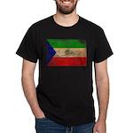 Equatorial Guinea Flag Dark T-Shirt