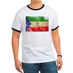 Equatorial Guinea Flag Ringer T