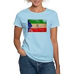 Equatorial Guinea Flag Women's Light T-Shirt