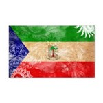 Equatorial Guinea Flag 22x14 Wall Peel