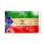 Equatorial Guinea Flag Car Magnet 20 x 12