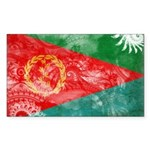 Eritrea Flag Sticker (Rectangle 10 pk)