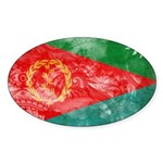Eritrea Flag Sticker (Oval 10 pk)