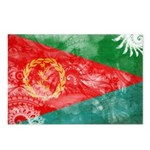 Eritrea Flag Postcards (Package of 8)