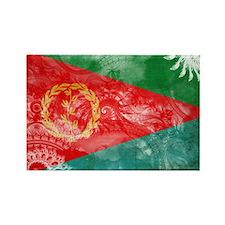 Eritrea Flag Rectangle Magnet