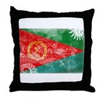 Eritrea Flag Throw Pillow