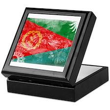Eritrea Flag Keepsake Box
