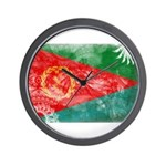 Eritrea Flag Wall Clock