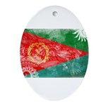 Eritrea Flag Ornament (Oval)