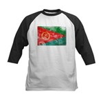 Eritrea Flag Kids Baseball Jersey